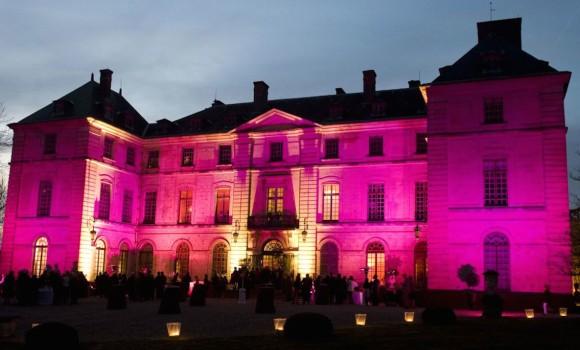 Eclairage façade Château