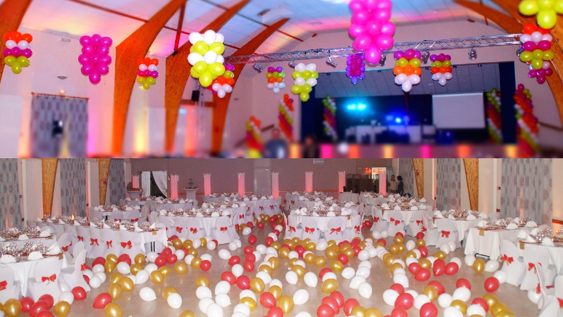 D co ballons sacha mls music lights system - Deco reveillon nouvel an ...