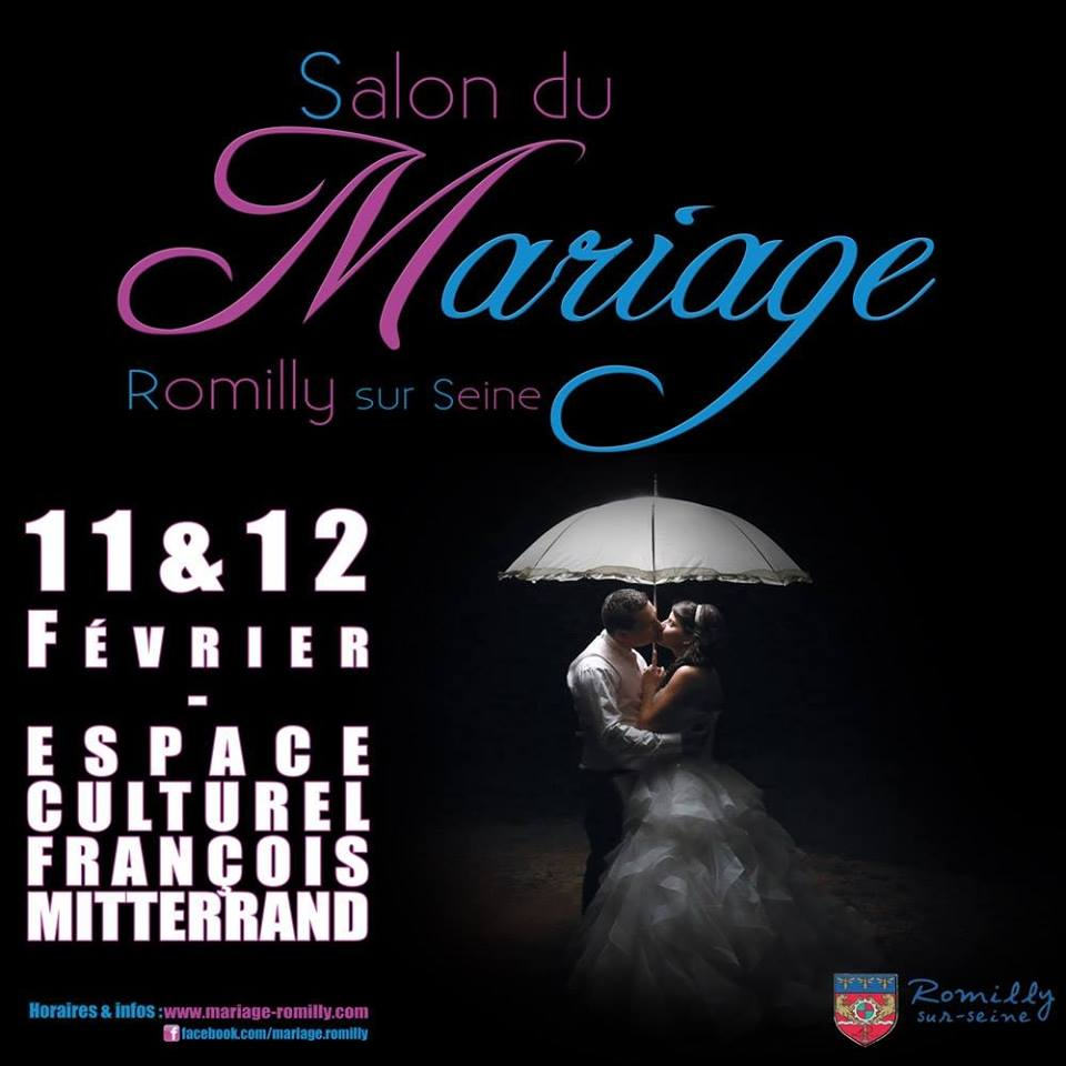 Salon du mariage 2017 romilly sacha mls music for Salon du reptile 2017