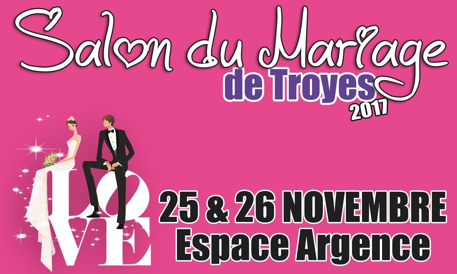 Salon du mariage 2017 troyes sacha mls music for Salon du reptile 2017