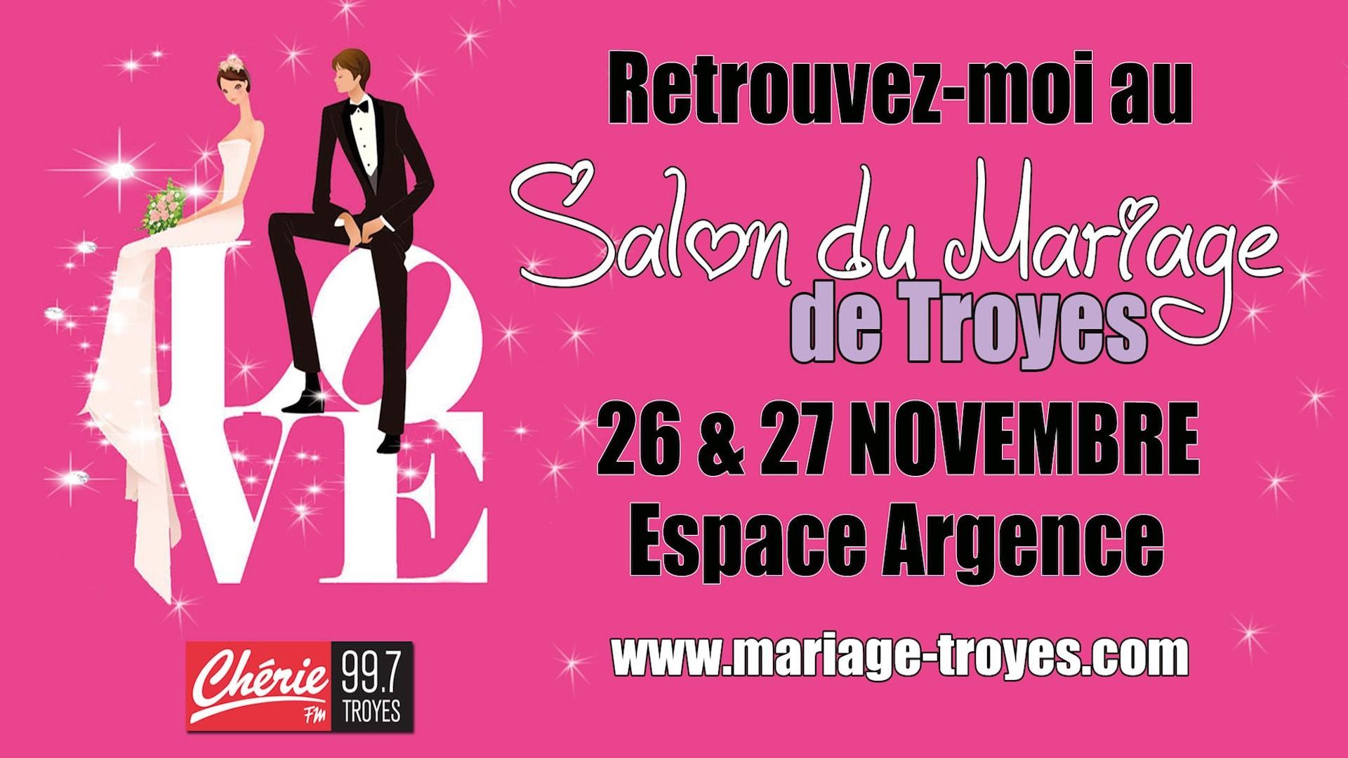 Salon du mariage 2016 troyes sacha mls music for Salon du chiot troyes 2017
